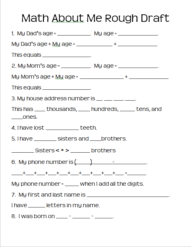 Need to fill this out and this will help them complete the project