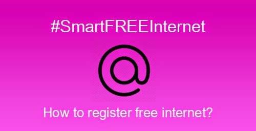 How to Register FREE Internet Promo - #SmartFREEInternet