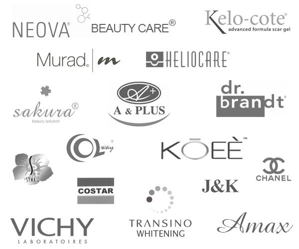 Các dòng thương hiệu mà  Công ty Mỹ Phẩm Hoa Anh Đào phân phối