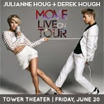 MOVE LIVE:  Julianne   & Derek Hough