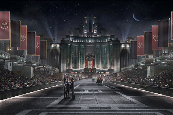 Capitol of Panem The Hunger Games 2012 movieloversreviews.blogspot.com