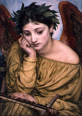 """Erato, Muse of Poetry"" by Edward Poynter"