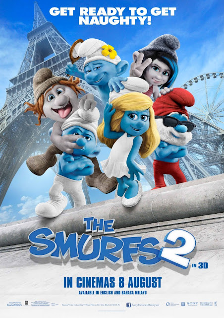 CPUV (BE) Nuffnang The Smurfs 2
