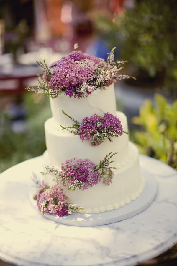 Wedding Cakes Pictures: Lilacs Wedding Cake