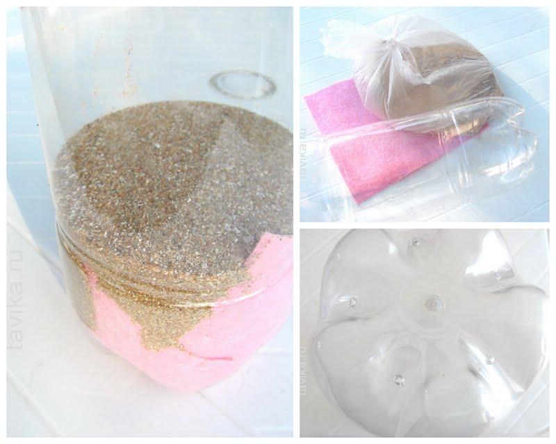 как сделать фильтр из песка