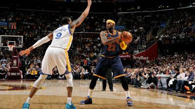 NBA Finals 2015 - Warriors vs Cavaliers Game 1 Scores