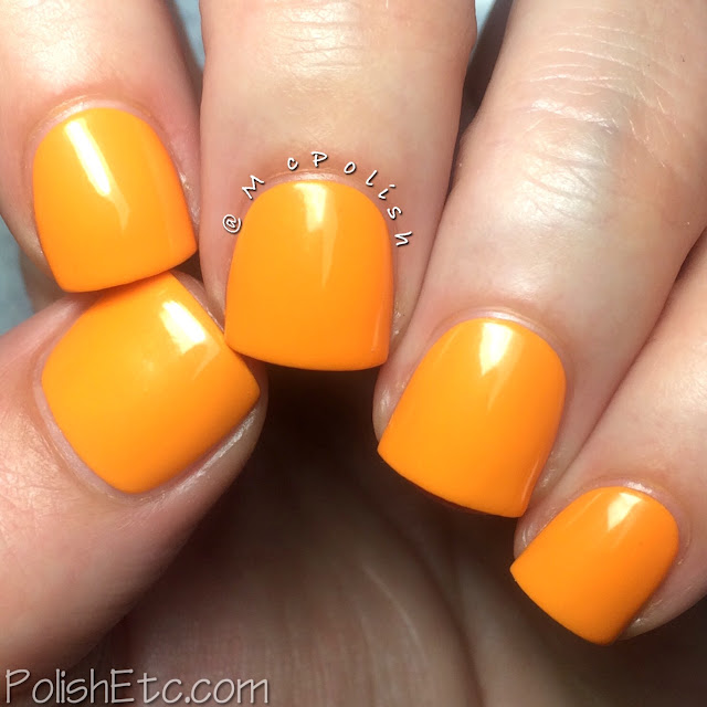 Lisa Nail Lacquer - Spring/Summer 2015 - McPolish - MANGO TANGO