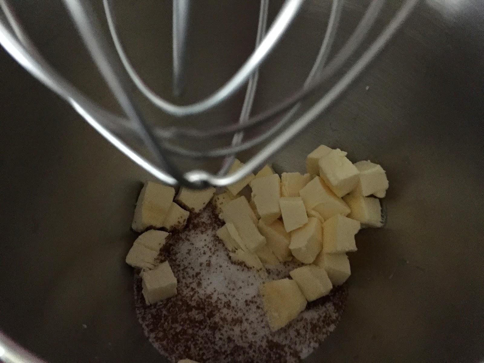 Cookies de conguitos, mantequilla y azúcar.
