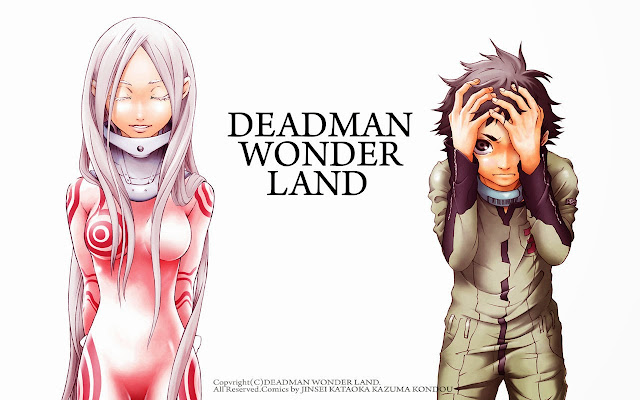 Deadman Wonderland [13/13 Tomos][25 MB][Manga]
