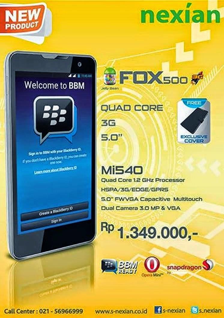 S Nexian FOX500 Mi540