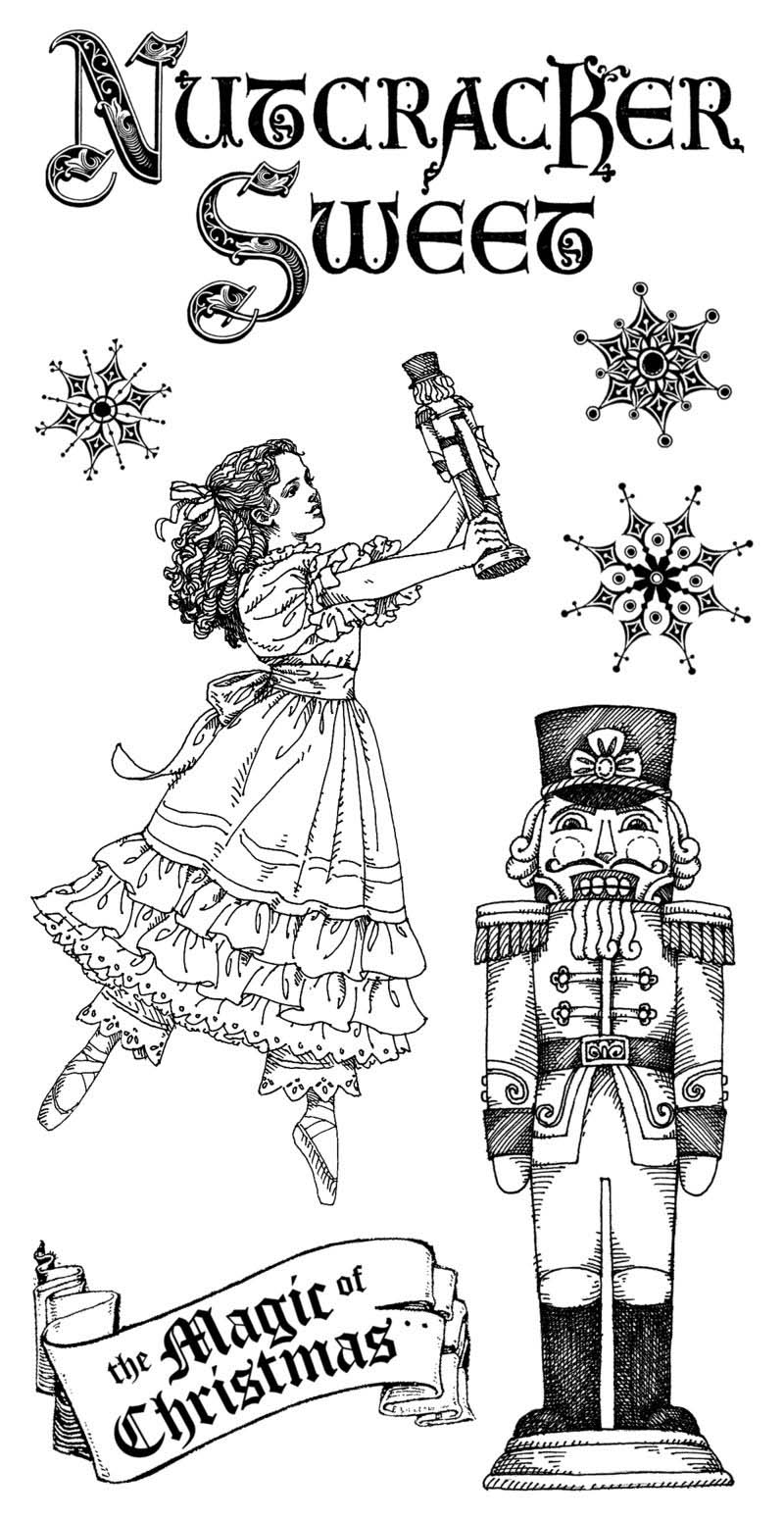 nutcracker suite coloring pages free - photo#6