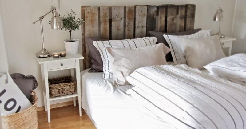 10 cabeceros de cama hechos con palets ideas eco - Cabeceros hechos con palets ...