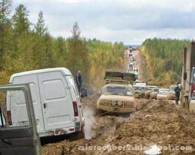 Siberian Road to Yakutsk