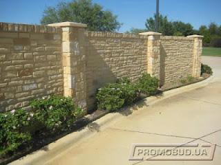 Каменный забор. Фото 25