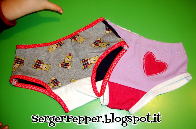 free sewing pattern and tutorial:  underwear