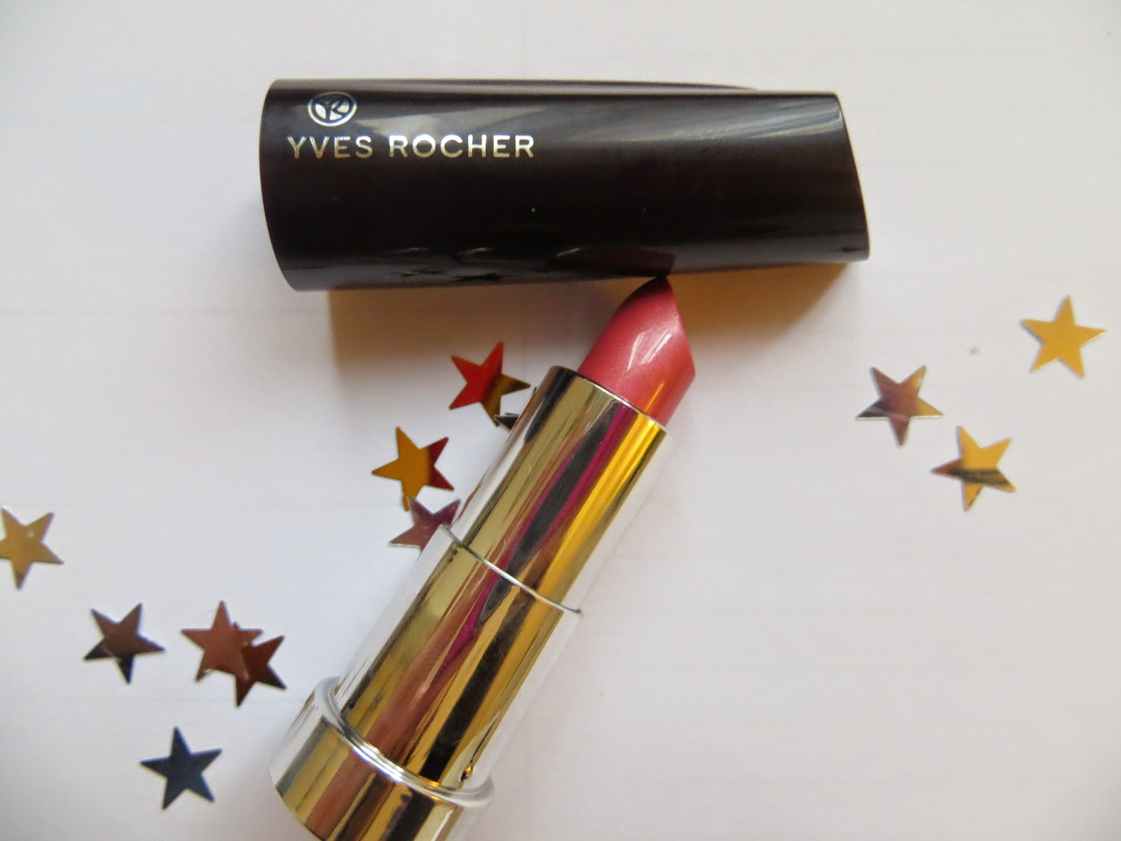 Yves Rocher, Lipstick, MAC, Yves Rocher review, lipstick review, pink lipstick, swatch, blogger review, frost finish