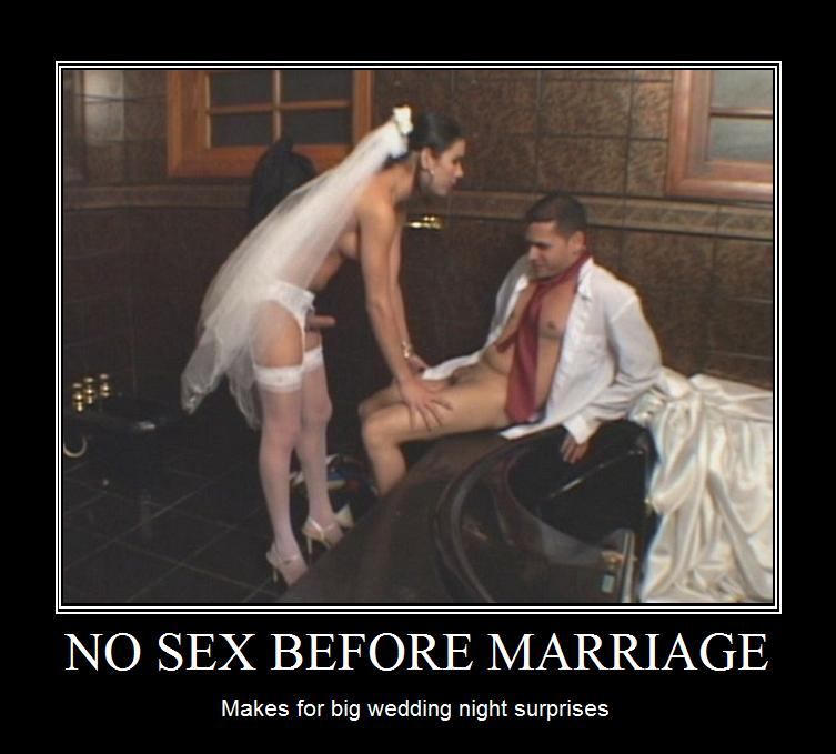 No sex until married