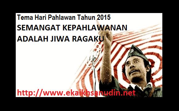 SELAMAT HARI PAHLAWAN 2015