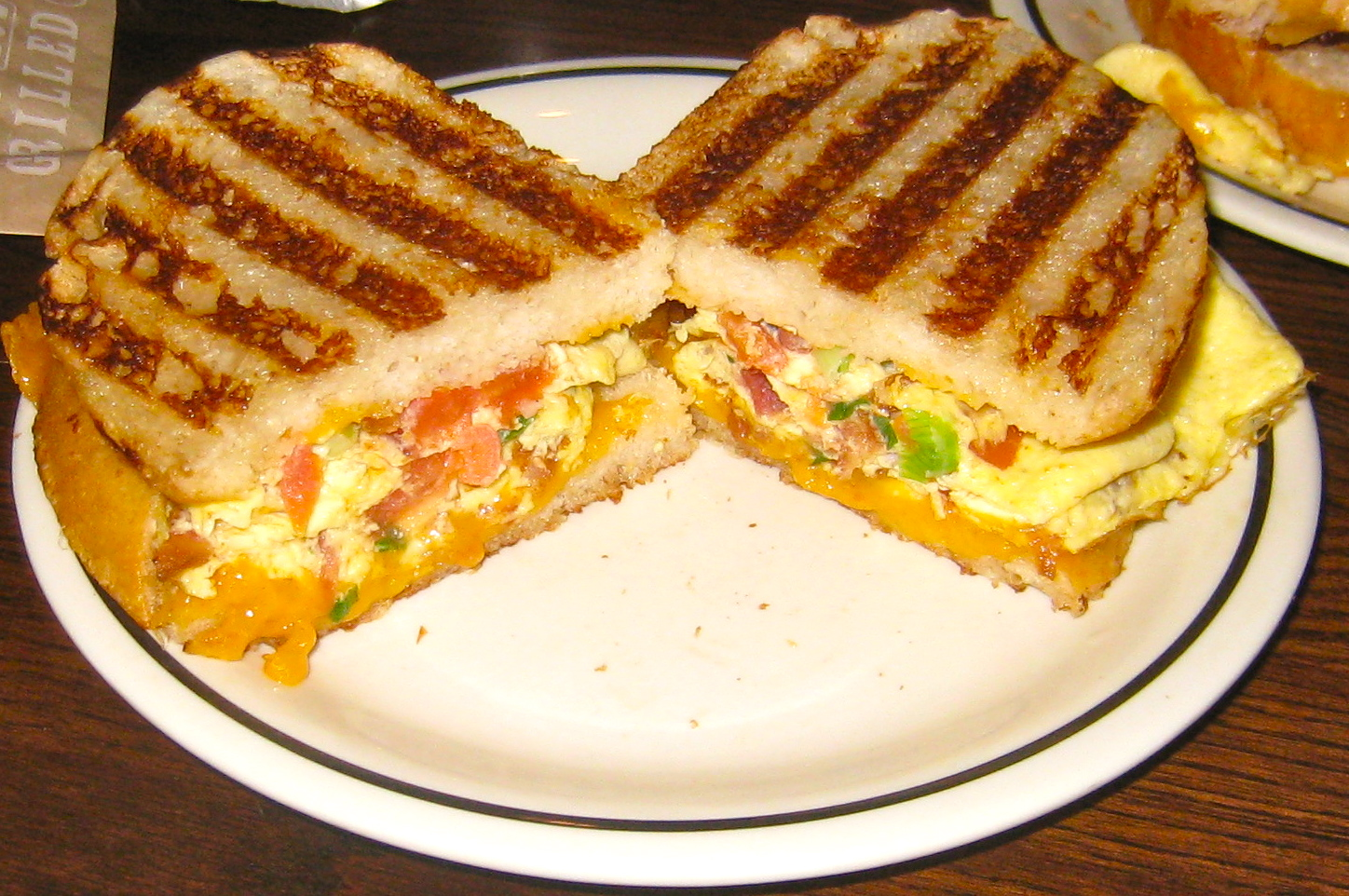 Breakfast Panini Recipe — Dishmaps