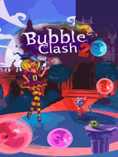 Screenshots of the Bubble clash 2 for java mobile, phone.