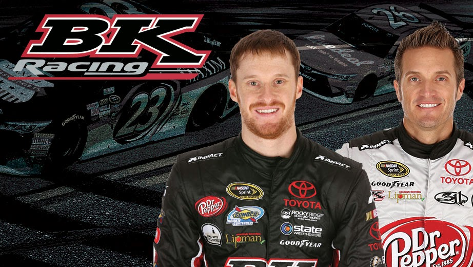 BK Racing = Jeb Burton and J.J. Yeley