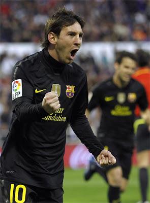Spanish football Lionel Messi