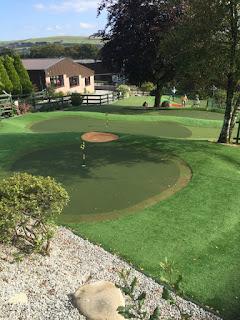 Photo of the Adventure Golf course at The Manor House & Ashbury near Okehampton, Devon