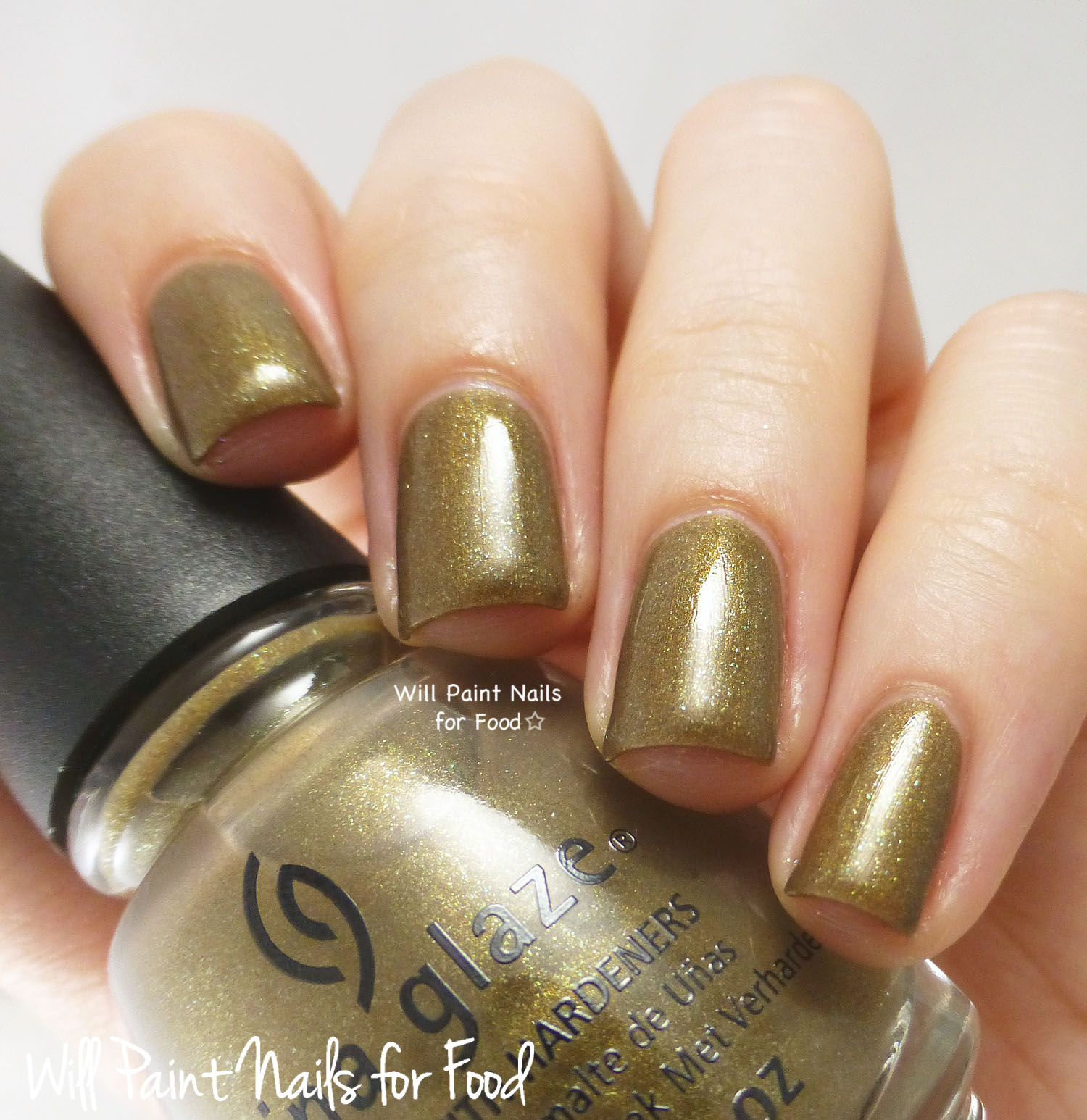 China Glaze Mind the Gap swatch