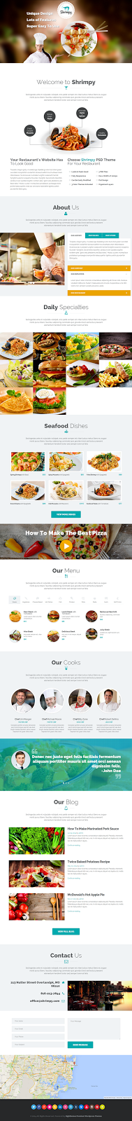 free one page wp theme