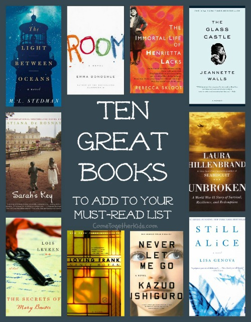 come together kids 10 great books perfect for a book club