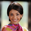 Kajal Agarwal in Yellow Churidar  Cute Pictures