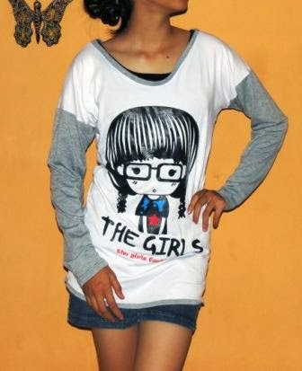 Blouse Kaos Korea Online BKM2073