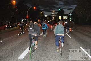 Critical Mass Hamburg, 27.09.2013