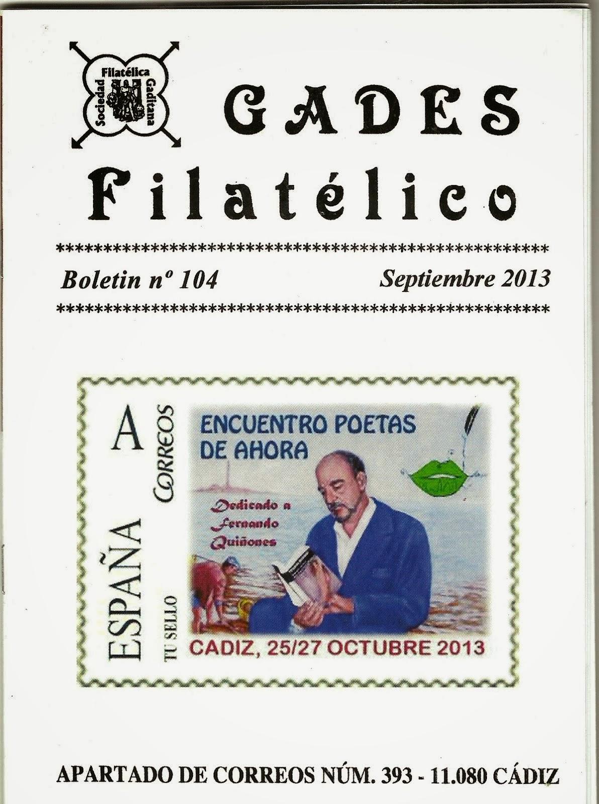 GADES FILATÉLICO