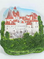 3D Art Fridge Magnet Bran Castle Dracula Romania Souvenir Refrigerator Gift