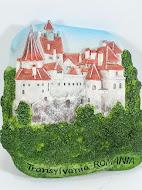 3D Art Fridge Magnet Bran Castle Dracula Romania Souvenir Refrigerator Gift