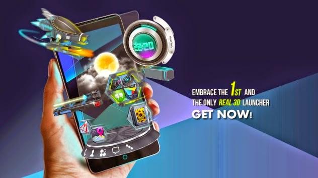 Next Launcher 3D Premium Cracked Version 2015