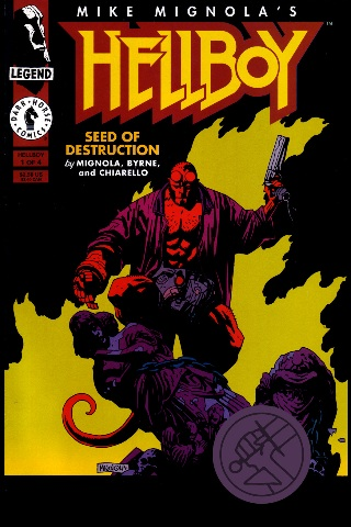 Hellboy Volume 1 Seed of Destruction Free App Game By Dark Horse Comics