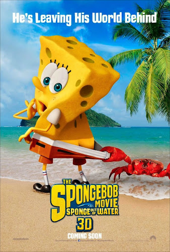 The Spongebob Movie: Sponge out of water (BRRip 3D 1080p Dual Latino / Inglés) (2015)