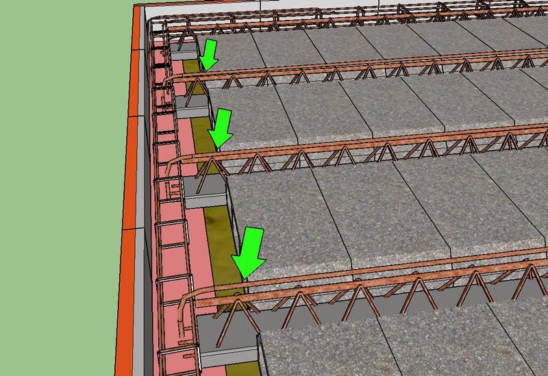 Projet de construction d 39 une dalle en b ton b tir sa - Panneau treillis soude pour dalle de beton ...