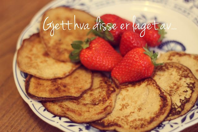 pannekaker uten mel gluteinfrie