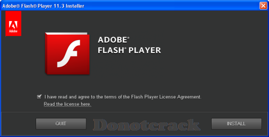 adobe flash license