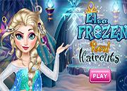 juego Elsa Frozen Real Haircuts