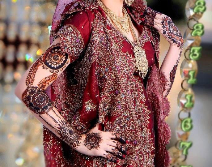 Elegant Wedding Mehndi Designs