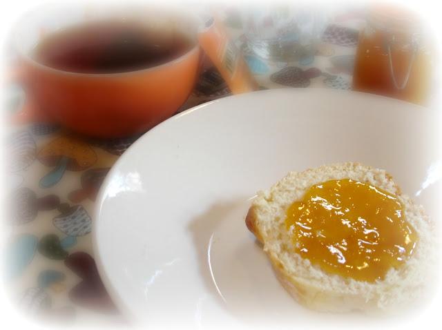Geleia de pêssegos