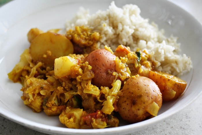 Easy recipe aloo gobi