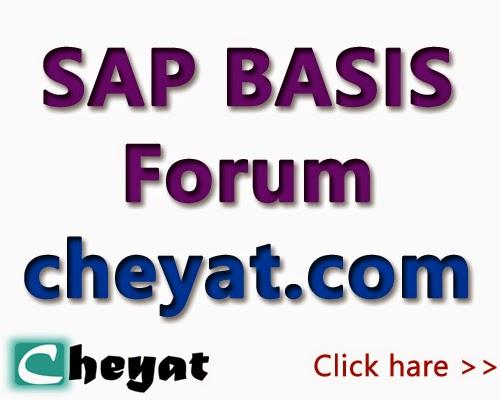 SAP BASIS Forums