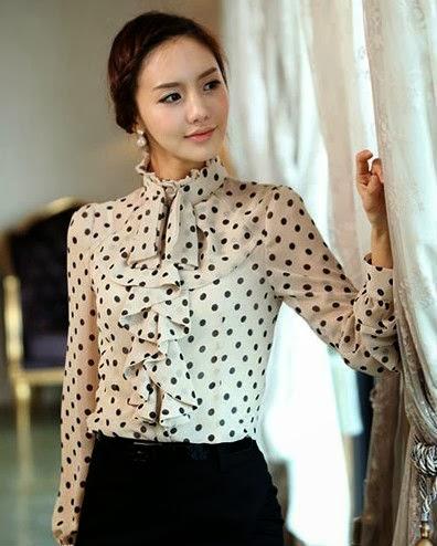 fabulosas ideas de moda en blusas de chifon que te haran ver increible