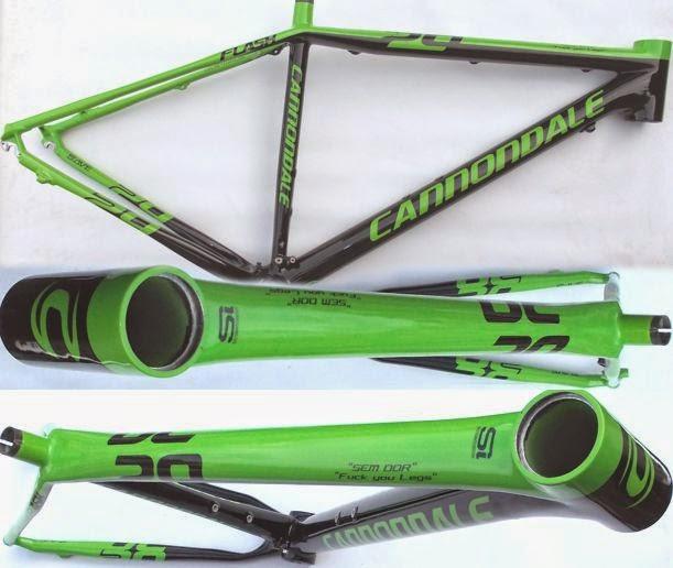 cannondale flash verde
