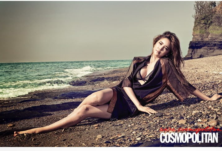 Lee Tae Im - For the Emperor Sexy Actress Cosmopolitan June 2014
